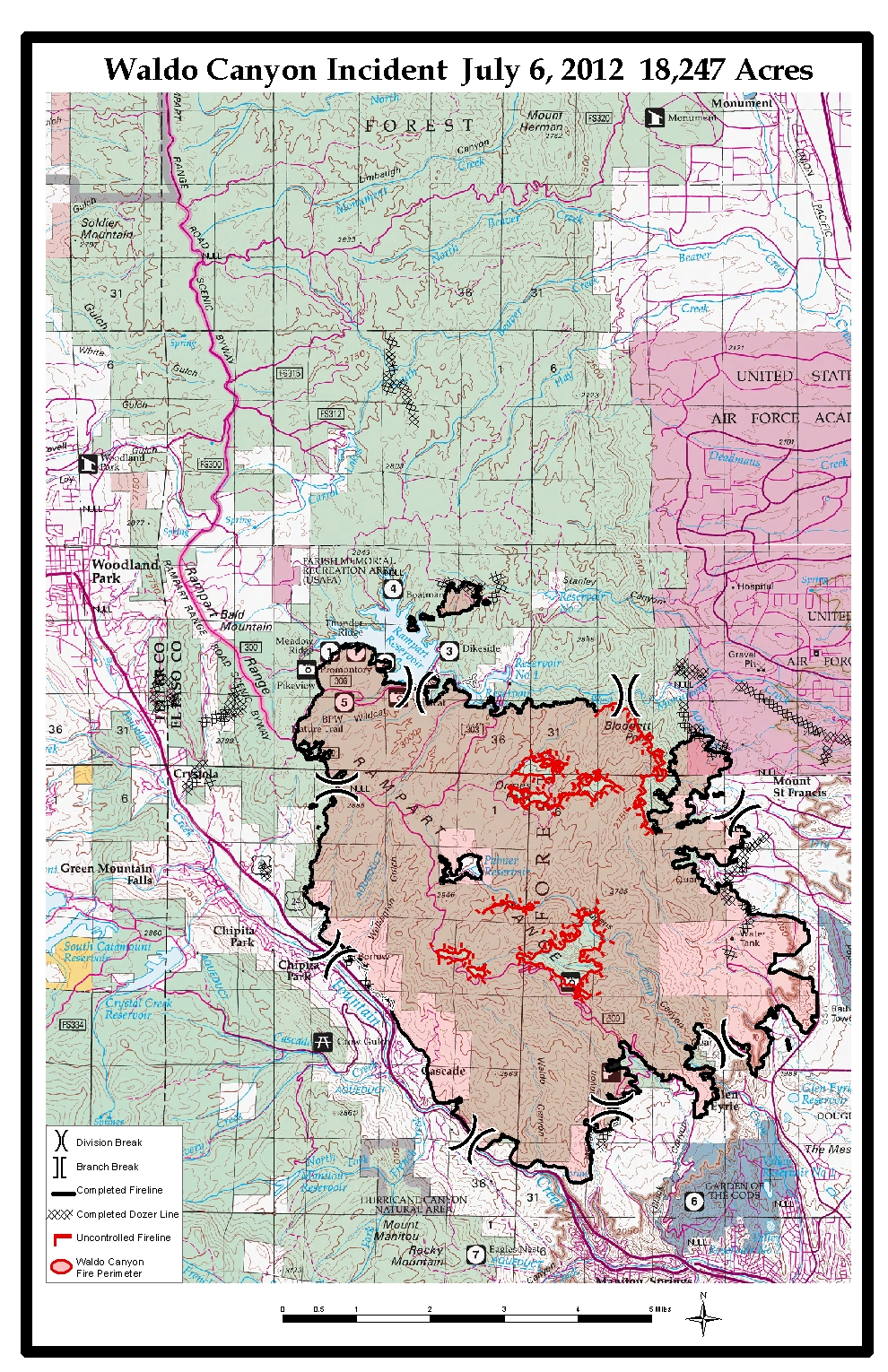 Waldo Canyon Fire Wildlandfires Info